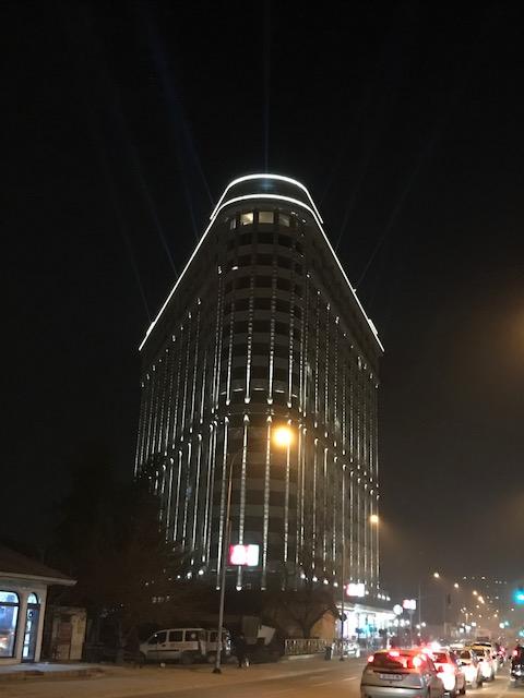 Projector Lighting For Building Customer Focus